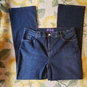 ♥️ Nydj tummy control high rise bootcut jean